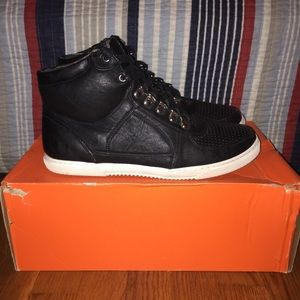 Other - Leather Hightop Sneakers